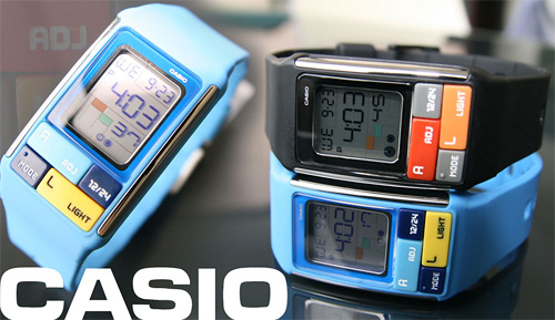 Casio Cubic Puzzle Watch (Image courtesy Tokyoflash)