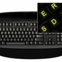 Glow In Dark Keyboard Stickers