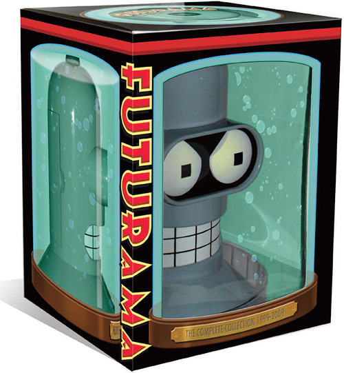 Futurama: The Complete Collection (Image courtesy Fox)