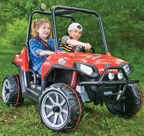 Kid-Friendly Polaris RZR (Image courtesy Hammacher Schlemmer)