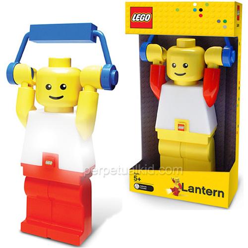 LEGO Minifig Lantern (Image courtesy Perpetual Kid)