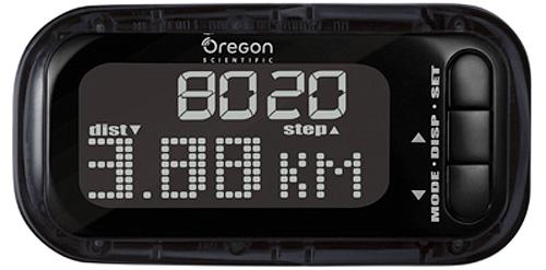 Marathon Pedometer (Image courtesy Oregon Scientific)
