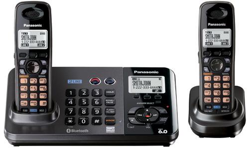 Panasonic KX-TG9382T (Image courtesy Panasonic)