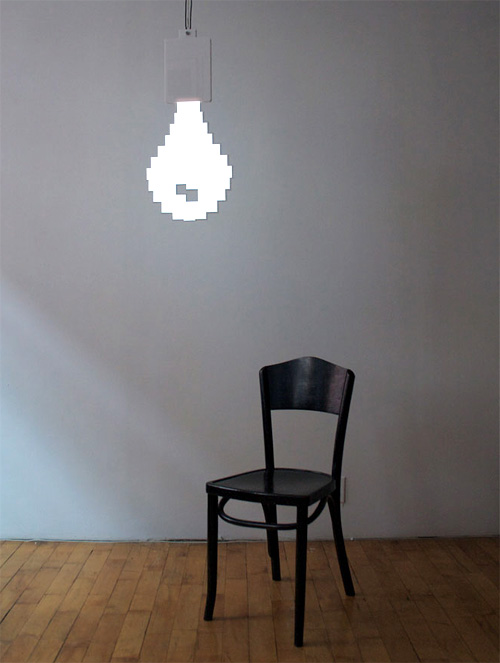 Pixel Bulb (Image courtesy yatzer)