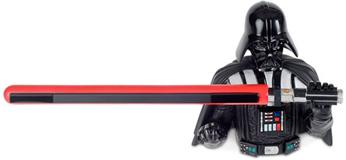 Darth Vader Nintendo Wii Sensor Bar Holder (Image courtesy StarWarsShop)