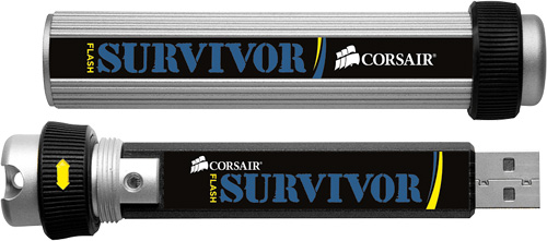 64GB Flash Survivor (Image courtesy Corsair)