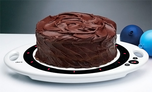 Musical Cake Tray (Image courtesy Deni)
