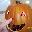 The Scariest Jack O'Lantern You'll Ever See (Or Hear)
