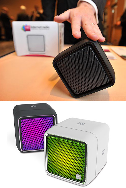 Q2 Cube Internet Radio (Images courtesy Wired Gadget Lab)