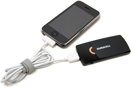 Duracell Instant USB Charger (Image property of OhGizmo!)