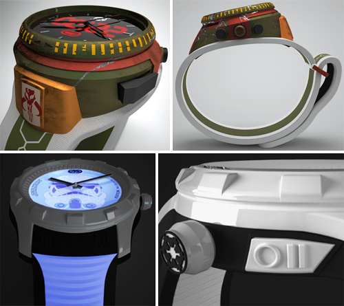 Mark Ecko & Timex Star Wars Watches (Images courtesy The Marc Ecko Blog)