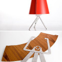 Flat Packed Lamp Doesn't Come From You Know Where