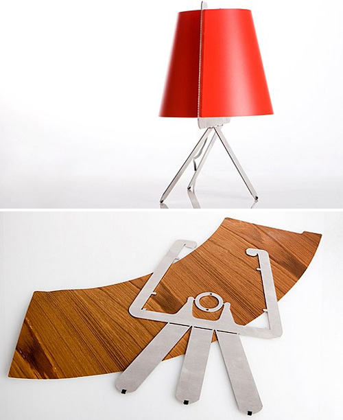 Flat Lamp (Images courtesy gSelect)