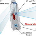 Funai And Nippon's New Laser Projector Recognizes Finger Movements On The Projected Image