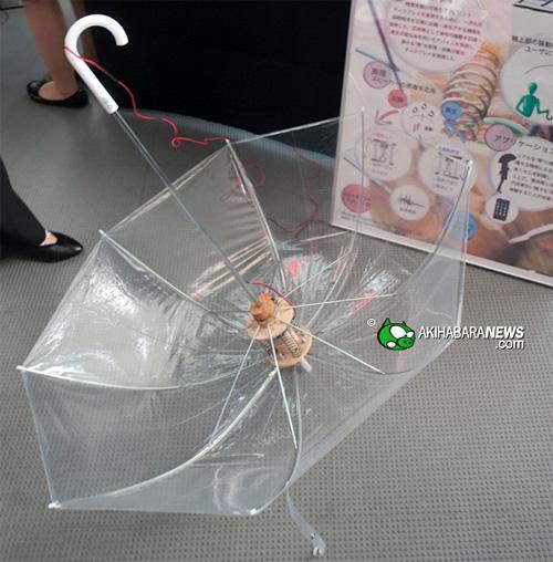 Funbrella (Image courtesy Akihabara News)