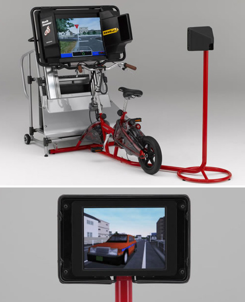 Honda Bicycle Simulator (Images courtesy FarEastGizmos)