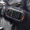 Wrist-Mounted iPhone Case For Motorcycle Riders