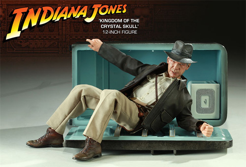 Indiana Jones And The Kingdom of the Crystal Skull Figure (Image courtesy Sideshow Collectibles)