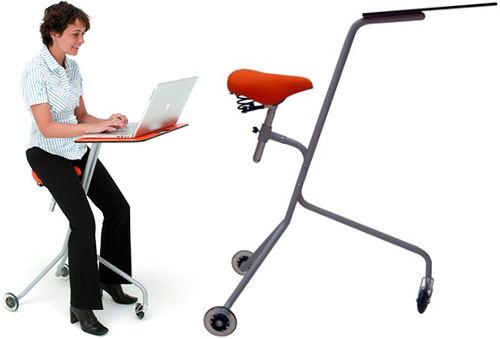 Mobile Desk (Images courtesy Opulent Items)