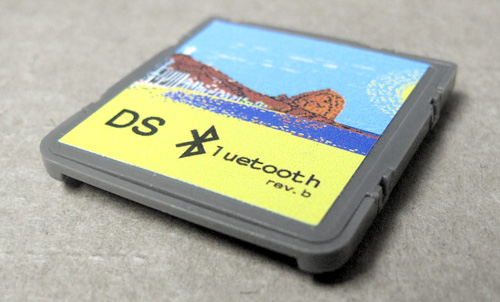 Nintendo DS Bluetooth Adapter (Image courtesy DS brut)