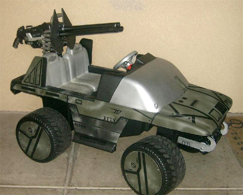 Power Wheels Warthog (Image courtesy flux83)