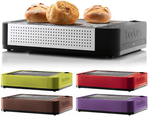 bodum bistro flatbed toaster ohgizmo. Black Bedroom Furniture Sets. Home Design Ideas