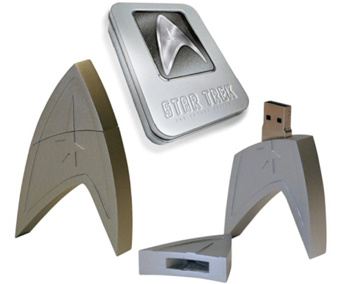Star Trek USB Stick (Images courtesy Play.com)
