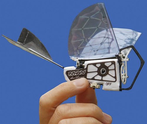 World's Smallest Da Vinci Ornithopter (Image courtesy Hammacher Schlemmer)