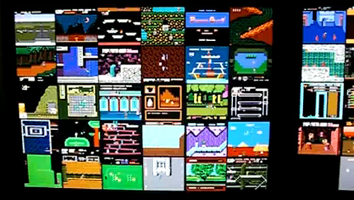 UberNES Nintendo Screen Saver (Image courtesy UberNES)