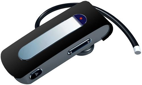 VR1 Recordable Bluetooth Headset (Image courtesy Hoffco Brands Inc.)