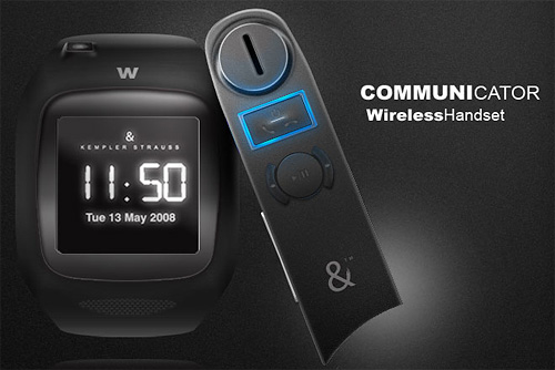W PhoneWatch With Communicator (Image courtesy Kempler & Strauss)