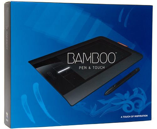 Wacom Bamboo Pen & Touch Tablet (Image property of OhGizmo!)