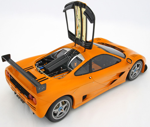 McLaren F1 LM at 1/8th Scale (Image courtesy Amalgam Fine Collection)