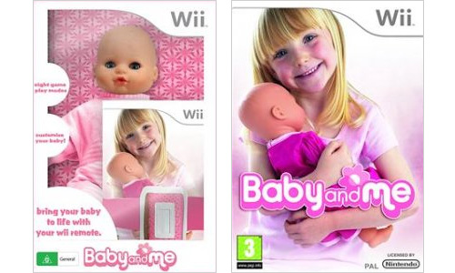 Wii Baby And Me Special Edition (Images courtesy Aussie-Nintendo)
