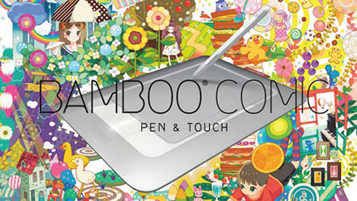 Bamboo Comic Pen & Touch Tablet (Image courtesy Wacom Japan)