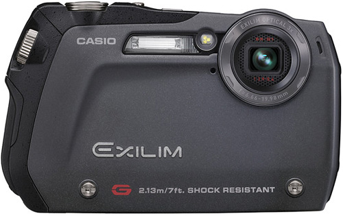Casio EX-G1 (Image courtesy Casio)
