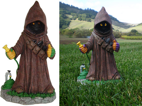 Garden Jawa (Images courtesy StarWarsShop & StarWarsBlog)