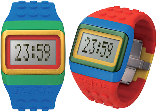 JCDC LEGO Watches (Image courtesy The Cool Hunter)