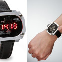 Multi-Format LED Display Watch