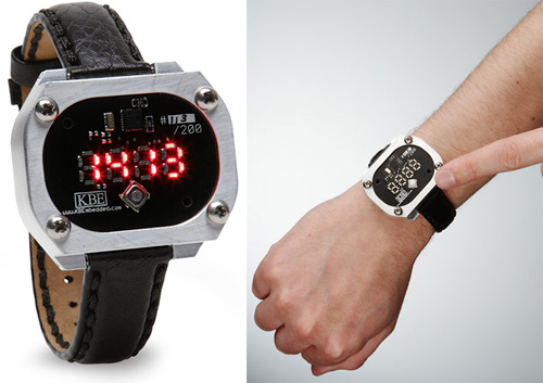Multi-Format LED Display Watch (Images courtesy ThinkGeek)