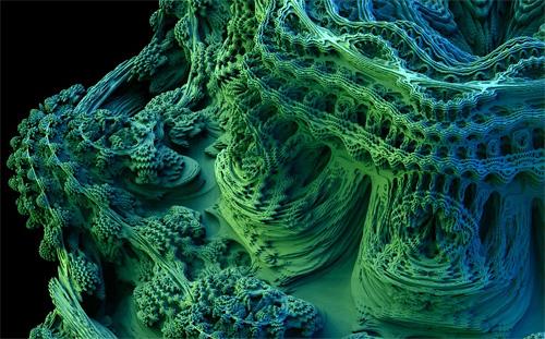 3D Mandelbrot (Image courtesy Skytopia)