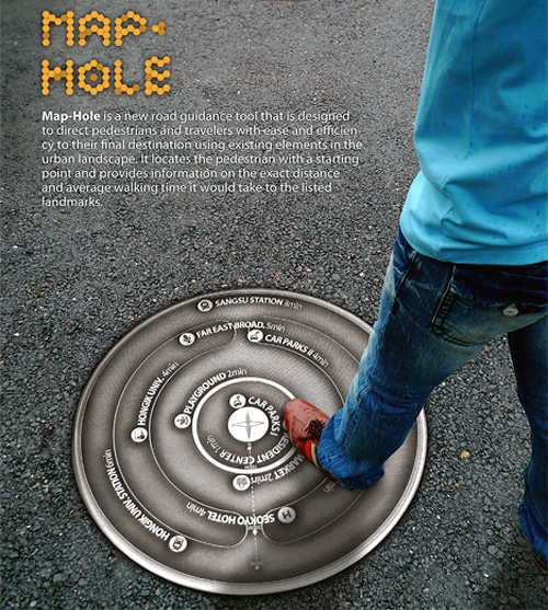 Map-Hole (Image courtesy Yanko Design)