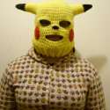 Pikachu Ski Mask Is A Little Unnerving