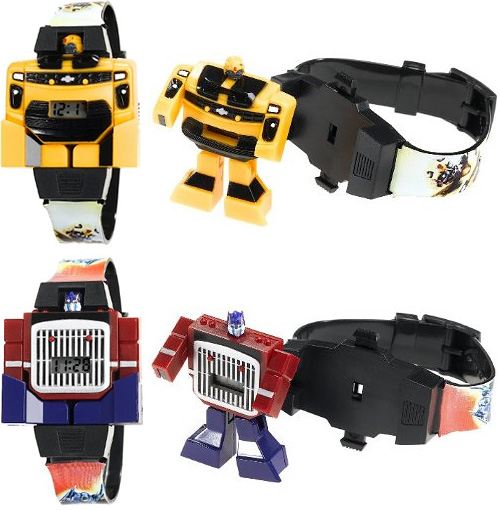 Transformers Watches (Images courtesy Amazon)