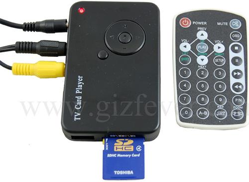USB TV Card Player (Image courtesy GizFever)