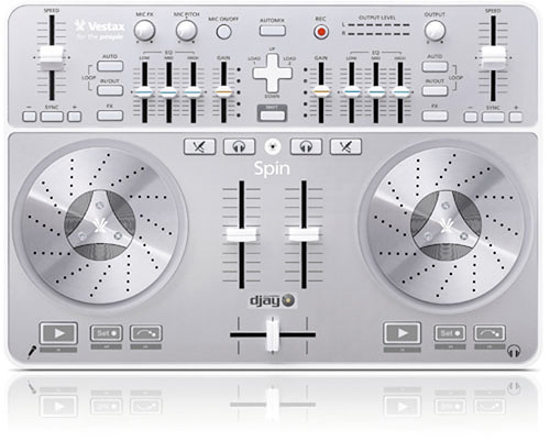 Vestax Spin (Image courtesy Vestax Japan)