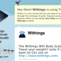 Withings WiFi Body Scale Updates Twitter Every Time You Step On