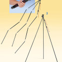Tamrac ZipShot Tripod With Tent Pole-Like Legs