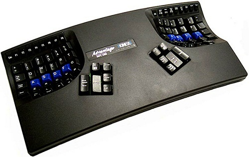 Kinesis-advantage-keyboard-black