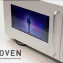 Concept Microwave Lets You Watch YouTube While You Wait